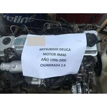 Motor Mitsubishi Delica 4m40 Año 1996-2000 Cilindrada 2.8