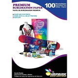 20 Resmas Papel Para Sublimacion Premium A4 100 Hojas