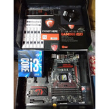 Pack Proce I3 6100 + Placa Msi Gaming M3 Usados Impecables