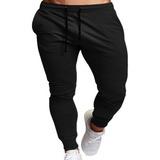 Pantalón Buzo Hombre Algodón. Jogger Sin Forro Polar M A 3xl