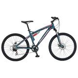 Bicicleta Bianchi Aggressor Aro 26 Dsx Color Azul Semi Mate
