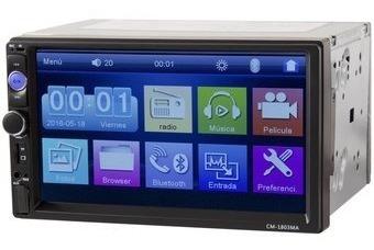 Radio Auto Proline Pl-3003 Mirror Link Bt Usb + Camara Retro