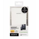 Batería Externa Sony 10.000mah Blanca/ Boleta