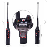 Radio Uhf Vhf Baofeng Bf-uv8d 8w 400-470 Mhz + Manos Libres!
