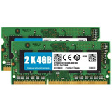 Kit Memorias Ddr3 8gb (2x4gb) 1600mhz Notebook Macbook Pro