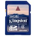 Memoria Sd Hc 16 Gb Clase 4 Kingston. Nikon Canon Lumix