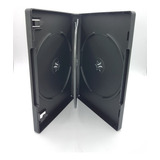 Pack 10x Caja Para 4 Cd Dvd 22mm Negra/ Sku Chile