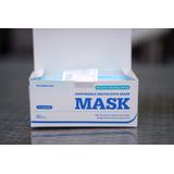 Mascarilla Desechable 50 Unidades Con Caja Proteccion Max