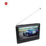 Mini Tv Portatil  Usb, Sd, 220/12v