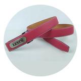 Levis - Cinturón De Cuero Para Hombre, Estilo Vintage, 681 A