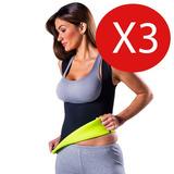 Camiseta Reductora Termoactiva Dama Varon 3 Unidades X Mayor