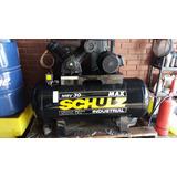 Compresor Shulz Msv-30 Max - Estanque 350 Lts. 7,5 Hp Usado