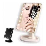 Oferta! Espejo Con 22 Luces De Led Para Maquillaje Portatil