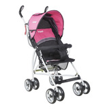 Coche Paragua Spin Black Pink Infanti