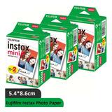 60 Fotografías Fujifilm Instax Mini Iso 800 Cartucho De Tin