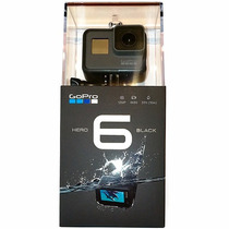 Gopro Hero 6 Black + Kit Gopro Lifelimit / 12 Ctas/ Iprotech