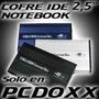 Cofre Case Para Disco Duro Ide Ata Pata 2.5 Usb Hd Notebook