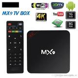 Tv Box Mx9 4k Android 7.1 Original App Kodi / Pix