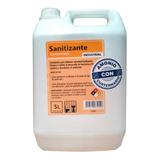 Limpiador Sanitizante Con Amonio Cuaternario 5 Lts