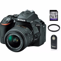 Nikon D5500 Lente 18-55 +sd16 Gb + Control Remoto + Filtro