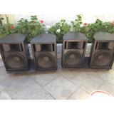Par De Parlantes Pasivos Para Audio Pro 15 Pulgadas 650w Rms