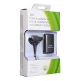 Batería Recargable Xbox 360 8000mah Kit + Cable Cargador