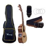Pack Ukelele Electro-acustico Concierto Mercury + Despacho
