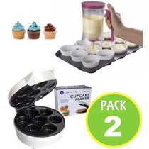 Maquina Cupcake Blanik + Dispensador Manual 80906 / Fernapet