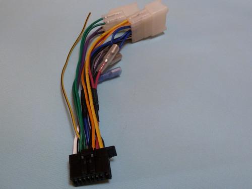 Conector Para Radio De Auto Pioneer 16 Pin Conexion Iso
