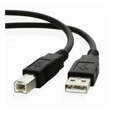 Cable De Impresora Usb 2.0 Tipo A Macho 1.5m / Lhua Store