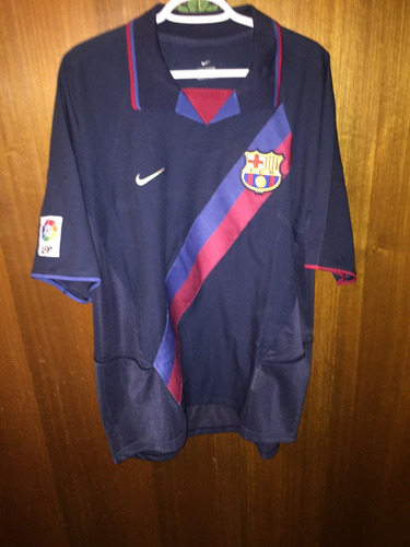 Camiseta Fc Barcelona Suplente 2002-2003 87353f4302f