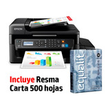 Impresora Epson Multifuncional L575 + Resma Carta 500h.