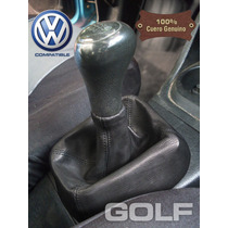 Volkswagen Golf / Vento: Funda Cuero Genuino Palanca Cambios