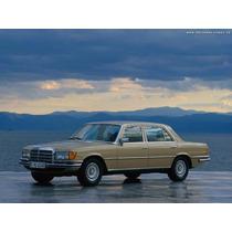 Libro De Usuario Mercedes Benz W116 (1972-1980)