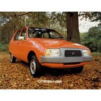 Libro De Despiece Citroën Visa, Gs, Bx, Cx 1970 - 1986