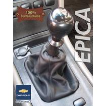 Funda Cuero Genuino Palanca Cambios Chevrolet Epica