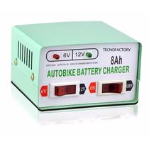 Cargador De Bateria 12v Y 6v 8ah Para Autos Y Motos