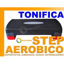 Step Aerobico Tonifica Muslos Gluteos Piernas Gimnasio Dieta