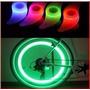 Luz Led Boomerang Rueda Bicicleta Rayos Multicolor Nueva