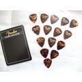 15 Uñetas Originales Fender Classic Shell Medium Nuevas !