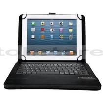Funda Con Teclado Bluetooth Tablet 9 Y 10 Acer Lenovo Aoc Hp