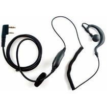 Audífonos Manos Libres Para Radios Kenwood Baofeng Y Otros