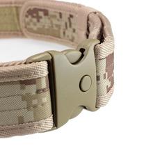Cinturón Táctico - Diseño Camo - Medida Ajustable