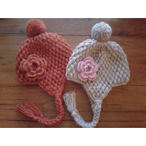 Gorritos Punto Puff A Crochet