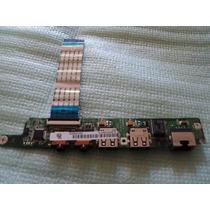 Puertos Usb Tarjeta De Audio Lenovo S10-3