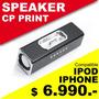Parlante Con Base Para Ipod Y Iphone +++ Oferta Navidad +++