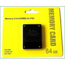 Memory Card Playstation 2 Ps2 64 Mb Oferta