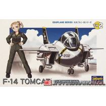 Maqueta F-14 Tomcat Nro 2 Egg Plane Hasegawa Nueva Japonesa