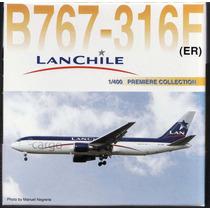 Avión Escala1/400 Dragon Wings Lan Cargo 767-316f