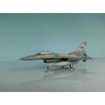 Avion Metalico F-16c Escuadron Mira Jason Escala 1:72